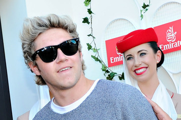 Niall Horan Off Court at the Australian Open