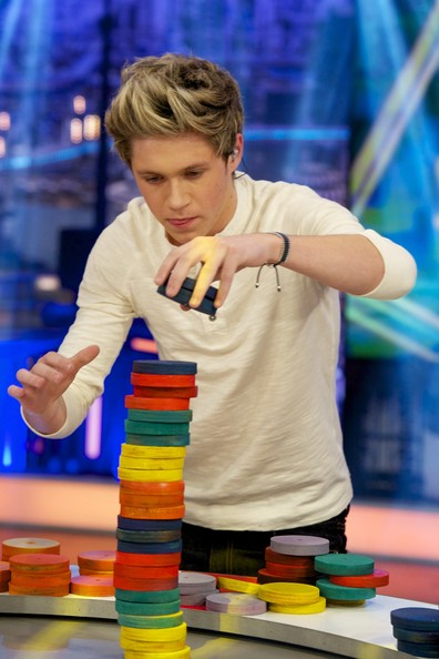 "Niall Horan Niall Horan of One Direction attends ""El Hormiguero"" Tv show at Vertice Studio on October 31, 2012 in Madrid, Spain."