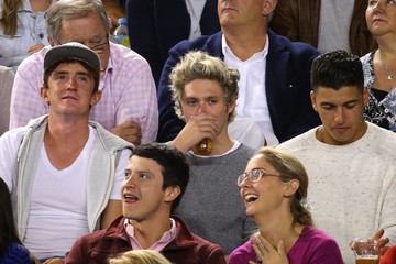 Niall Horan Australian Open: Day 12