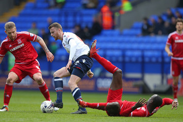 Niall Maher Bolton Wanderers v Middlesbrough - Sky Bet Championship