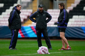 Nic Gill New Zealand All Blacks Training Session