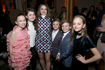 Nicholas Crovetti Chloe Coleman Entertainment Weekly Celebrates Screen Actors Guild Award Nominees at Chateau Marmont - Inside