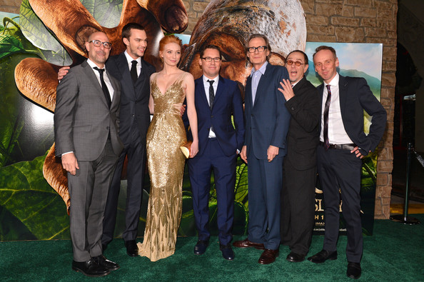 "Premiere Of New Line Cinema's ""Jack The Giant Slayer"" - Red Carpet [jack the giant slayer,event,suit,formal wear,tuxedo,ceremony,wedding,red carpet,bryan singer,actors,actors,bill nighy,l-r,new line cinema,premiere,premiere]"