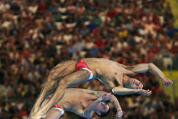 Nicholas Mccrory Olympics Day 3 - Diving