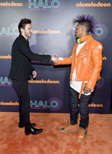 2016 Nickelodeon HALO Awards - Arrivals [event,performance,carpet,photography,flooring,red carpet,premiere,arrivals,aj lehrman,nick cannon,nickelodeon halo awards,awards,nickelodeon halo,new york city,basketball city pier 36 - south street]
