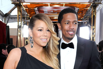 Nick Cannon Mariah Carey 20th Annual Screen Actors Guild Awards - Red Carpet