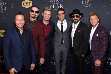 Nick Carter 2017 CMT Artists of the Year - Arrivals