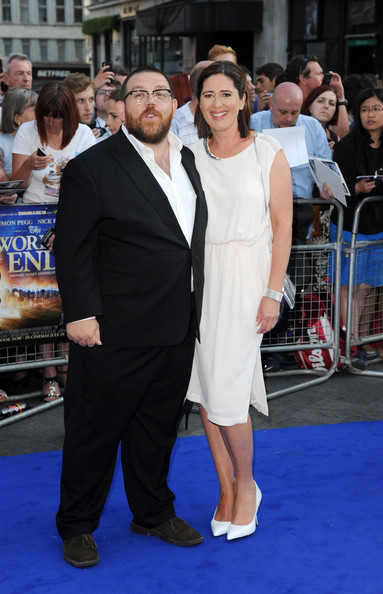 Nick Frost Christina Frost Photos Photos ZimbioNick Frost Wife