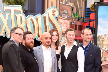 "Nick Frost Premiere Of Focus Features' ""The Boxtrolls"" - Red Carpet"