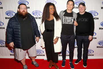 Nick Frost AMC WonderCon: 'Into the Badlands' Panel