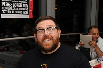 Nick Frost Stars at the DEC Philippines Typhoon Appeal