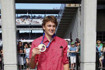 Nick Goepper Celebrities Attend Race - 2014 Indy 500