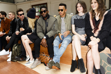 Nick Grimshaw Day 2 - Front Row - London Collections Men SS16