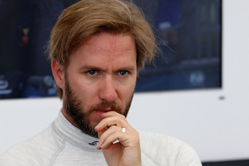 Nick Heidfeld 2015 FIA Formula E Visa London ePrix Championship - Day Two