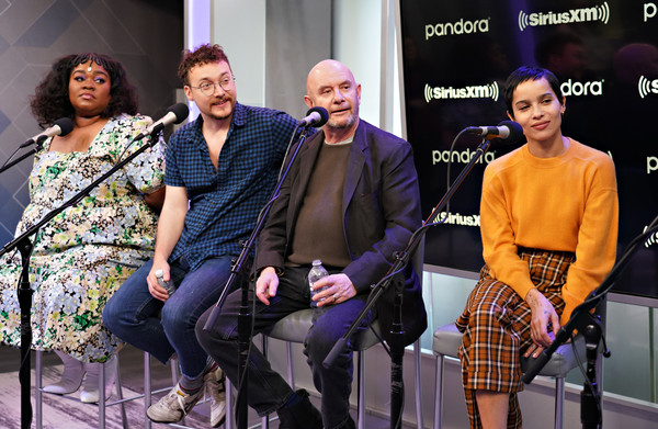 The Cast Of Hulu's High Fidelity Visits The SiriusXM's Studios