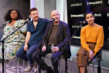 Nick Hornby The Cast Of Hulu's High Fidelity Visits The SiriusXM's Studios