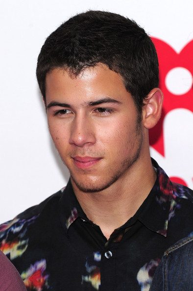 Nick Jonas Nick Jonas of The Jonas Brothers poses in the press room at    Nick Jonas