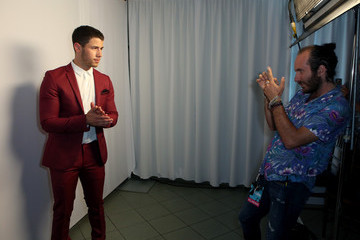 Nick Jonas Inside the Young Hollywood Awards