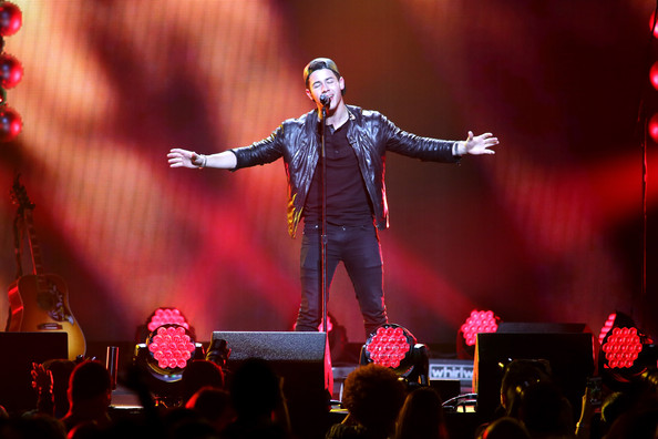 Y100's Jingle Ball Show [performance,entertainment,performing arts,music artist,concert,performance art,stage,music,event,public event,nick jonas,miami,fl,bb t center,y100,jingle ball 2014 - show]