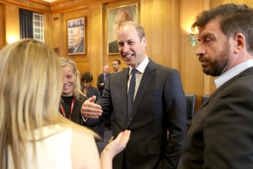 Nick Knowles The Duke of Cambridge Attends Screening of BBC's 'Mind Over Marathon' Documentary to Launch BBC Mental Health Season