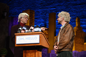Nick Kroll 'Oh, Hello!' Off-Broadway Press Conference