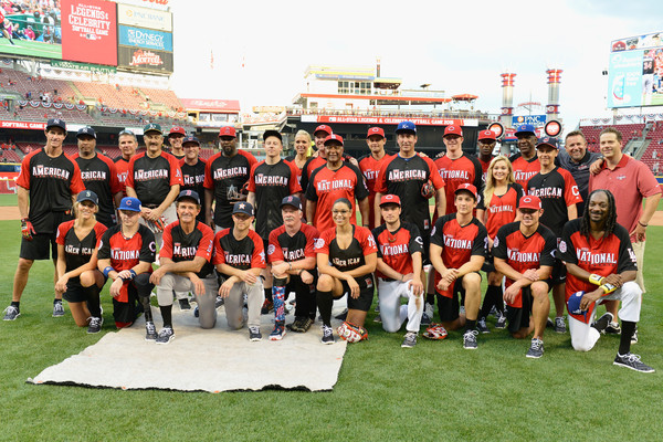2015 MLB All-Star Legends And Celebrity Softball Game