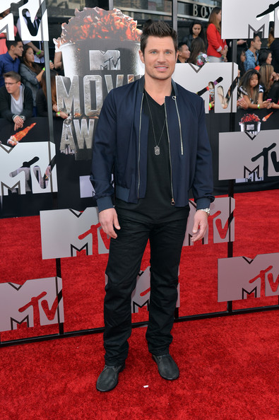 Nick Lachey - Arrivals at the MTV Movie Awards — Part 2