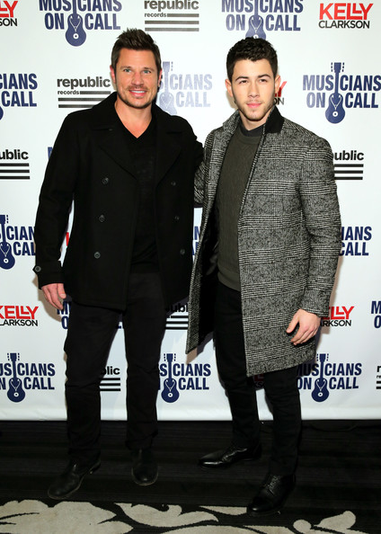 Nick Lachey - Musicians On Call Celebrates Its 15th Anniversary Honoring Kelly Clarkson And EVP Of Republic Records, Charlie Walk