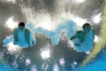 Nick McCrory Olympics Day 3 - Diving