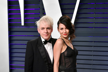 Nick Rhodes Nefer Suvio 2019 Vanity Fair Oscar Party Hosted By Radhika Jones - Arrivals