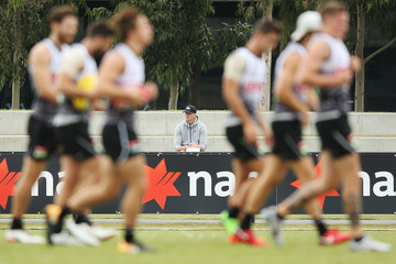 Nick Riewoldt Collingwood Magpies Training Session