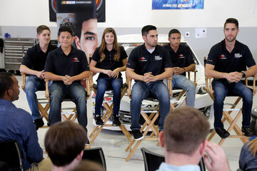 Nick Sanchez 2018 NASCAR Drive for Diversity Driver Development Class