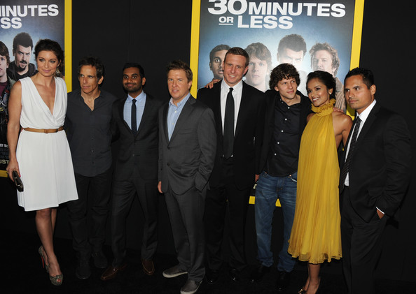 """Premiere Of Columbia Pictures' """"30 Minutes Or Less"""" - Red Carpet"""