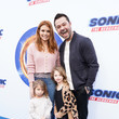 Nick Swisher Sonic The Hedgehog Family Day Event - Red Carpet