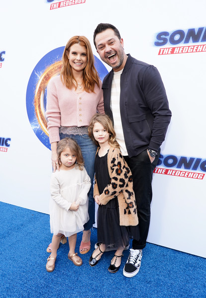 Sonic The Hedgehog Family Day Event - Red Carpet [carpet,premiere,event,fun,red carpet,flooring,family pictures,smile,child,family,nick swisher,joanna garcia,l-r,california,hollywood,red carpet,sonic the hedgehog family day,event,nick swisher,joanna garcia,livingly media,image,photograph,annual gala,sonic the hedgehog,actor]