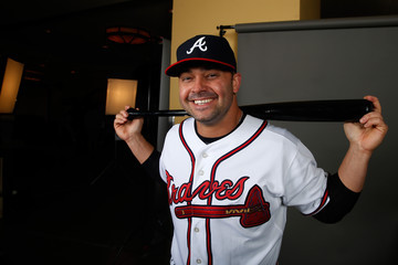 Nick Swisher Atlanta Braves Photo Day