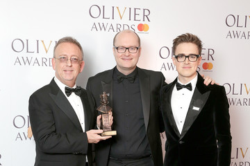 Nick Thomas The Olivier Awards With Mastercard - Press Room