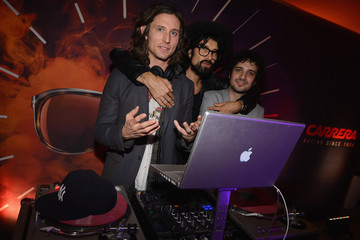Nick Valensi AD Oasis Hosts Carrera Cocktail Party