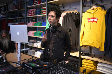 Nick Zinner Levi's Times Square Store Opening