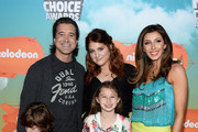 Recording artists Scott Stapp (L) and Meghan Trainor (2nd L) attend Nickelodeon's 2016 Kids' Choice Awards at The Forum on March 12, 2016 in Inglewood, California.