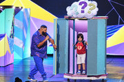 Host DJ Khaled speaks onstage at Nickelodeon's 2019 Kids' Choice Awards at Galen Center on March 23, 2019 in Los Angeles, California.