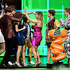 Candace Cameron Bure Photos - (L-R) Michael Campion, Soni Bringas, Candace Cameron-Bure, Andrea Barber, Jodie Sweetin and Scott Weinger accept the Favorite Funny TV Show award for 'Fuller House' onstage at Nickelodeon's 2019 Kids' Choice Awards at Galen Center on March 23, 2019 in Los Angeles, California. - Nickelodeon's 2019 Kids' Choice Awards - Show