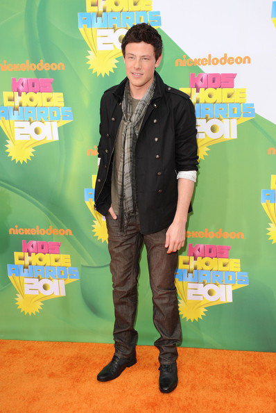 Actor Cory Monteith arrives at Nickelodeon's 24th Annual Kids' Choice Awards at Galen Center on April 2, 2011 in Los Angeles, California.
