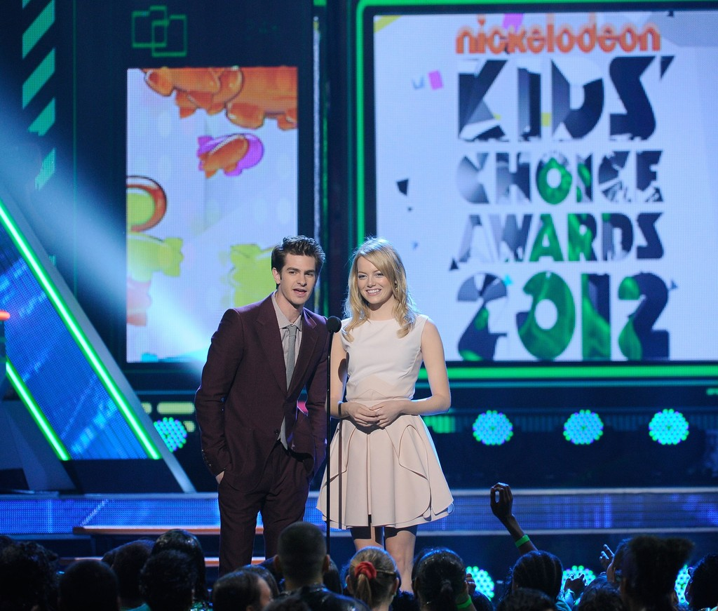 No Slime Here - Emma Stone and Andrew Garfield ...