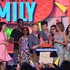 Jesse Tyler Ferguson Sarah Hyland Photos - (L-R) Actress Kathrine Herzer, actor Chris Rock, Lola Simone Rock, actor Jesse Tyler Ferguson, actor Nolan Gould, actor Rico Rodriguez, actress Sarah Hyland and actress Ariel Winter speak onstage during Nickelodeon's 28th Annual Kids' Choice Awards held at The Forum on March 28, 2015 in Inglewood, California. - Nickelodeon's 28th Annual Kids' Choice Awards - Show