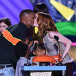 Jamie Foxx and Emma Stone Photos