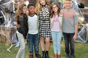 Bella and the Bulldogs star Brec Bassinger and the cast of Nickelodeon's Game Shakers greet kids and fans at a special Halloween-themed event at the Nickelodeon Animation Studio in Burbank, Calif., for a sneak peek of a spooky episode of the animated series Harvey Beaks as well as new clips from Bella and the Bulldogs, Game Shakers and the movie Liar, Liar, Vampire, on October 6, 2015 in Burbank, California. Liar, Liar, Vampire will premiere in October.