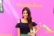 Actor Daniella Monet attends Nickelodeon Kids' Choice Sports Awards 2017 at Pauley Pavilion on July 13, 2017 in Los Angeles, California.