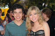 "Actors David Archuleta and Jennette McCurdy  attend Nickelodeon's ""Fred: The Movie"" premiere screening event at Paramount Theater on September 11, 2010 in Hollywood, California. Based on one of the most popular internet characters of all time, the original film follows Fred's quest to win over his unrequited love, Judy. ""Fred: The Movie"" premieres Saturday, September 18 at 8:00 p.m. (ET/PT) on Nickelodeon."