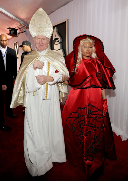 Nicki Minaj Rapper Nicki Minaj arrives at the 54th Annual GRAMMY Awards held at Staples Center on February 12, 2012 in Los Angeles, California.